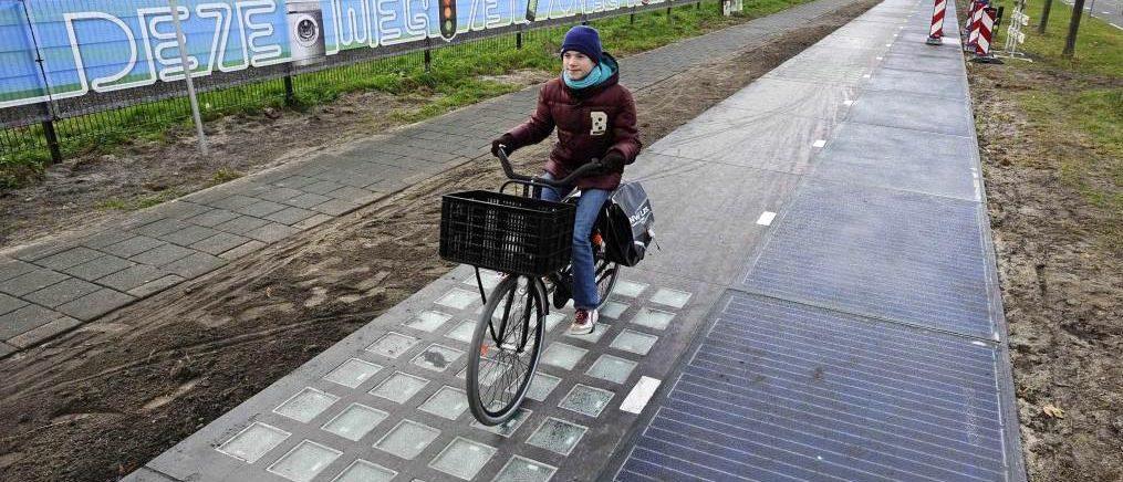 solaroad piste cyclable cycliste