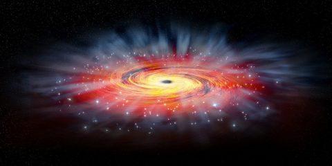 trou noir supermassif sonder element force nature nasa chandra