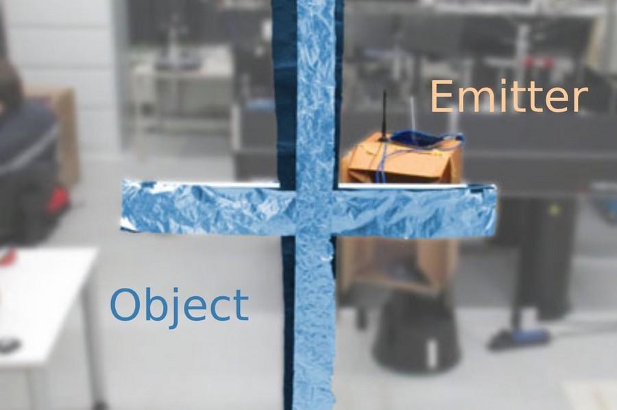 wifi vision travers murs photographie holographique hologrames 3d bidimensionnel premiere image