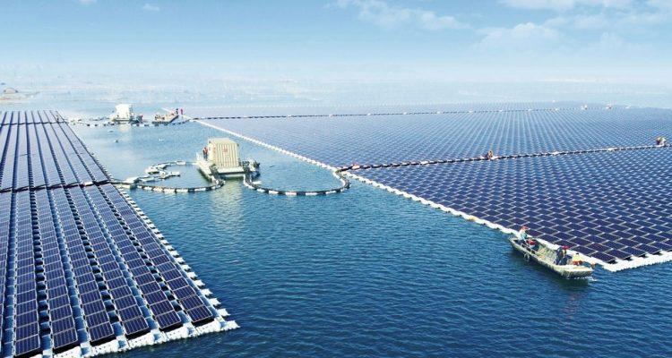 energie renouvelable solaire flottant chine
