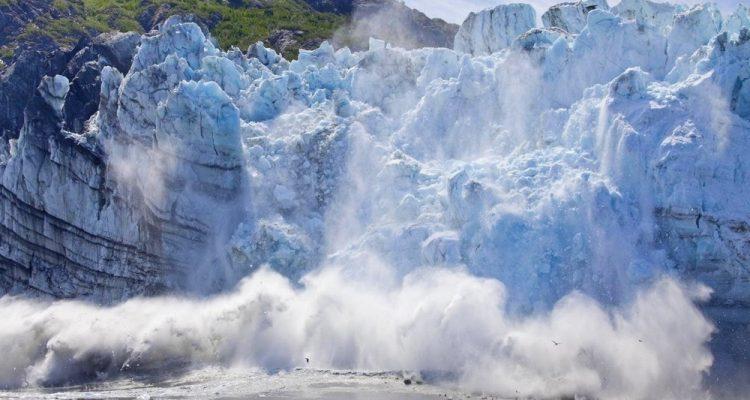 fonte glacier glace élévation du niveau de la mer global réchauffement changement climatique