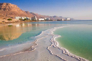mer morte jordanie israel environnement impact humain géologie