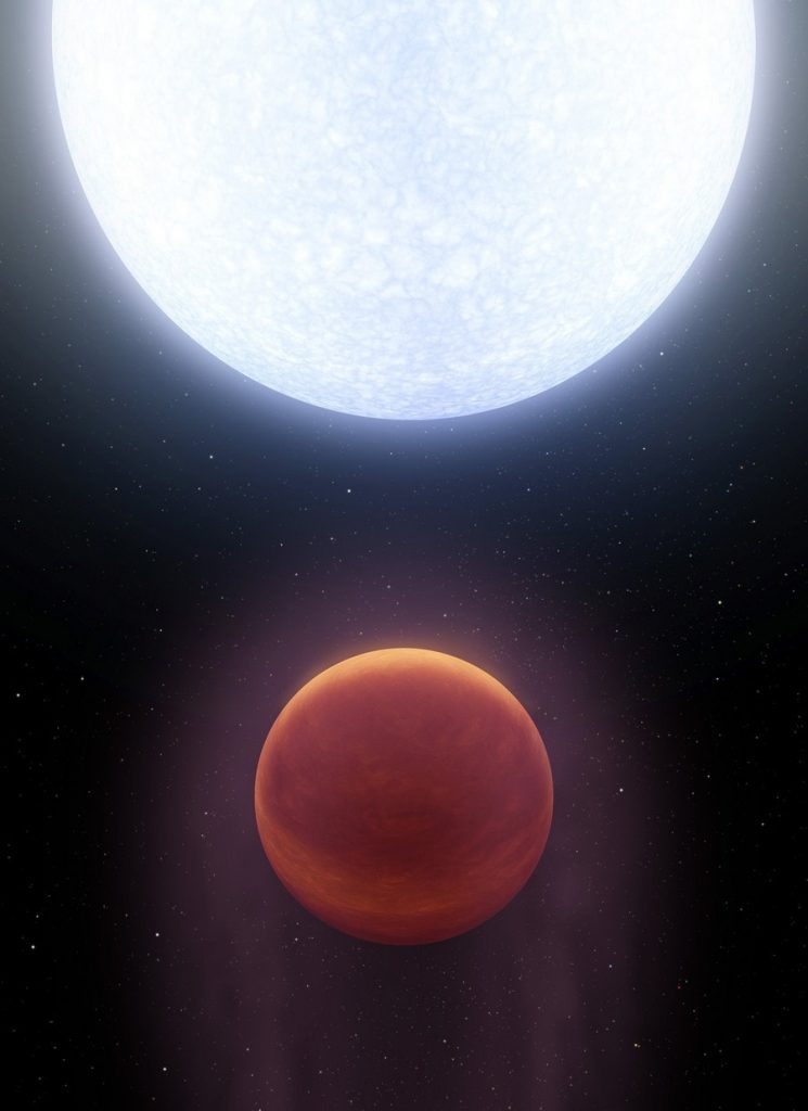 nasa planete chaud temperature extreme etoile orbite nasa 3