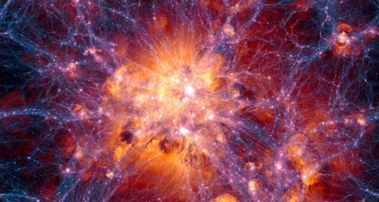 strucutre galactique illustris