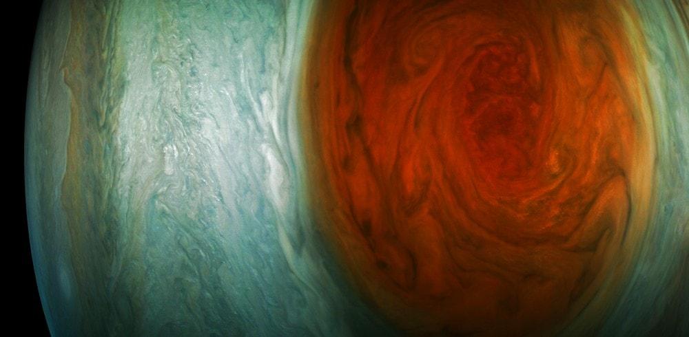 """Résultat de recherche d'images pour """"La NASA aurait décelé de l'eau dans la Grande Tache rouge de Jupiter"""""""