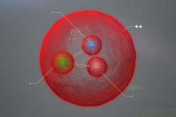 nouvelle particule CERN baryon lhcb