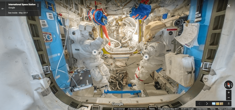 observer google street view station spatiale internationale ISS thomas pesquet 3-min