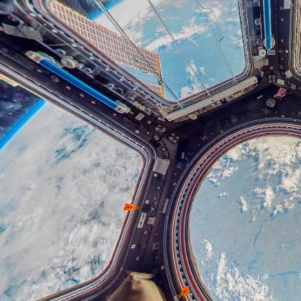 observer google street view station spatiale internationale ISS thomas pesquet espace cabine