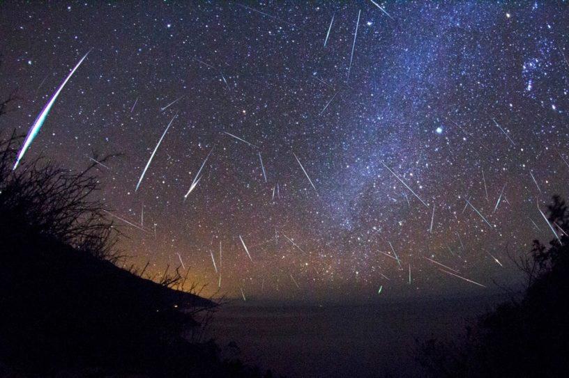 perseides meteores étoiles filantes observation ciel nocturne