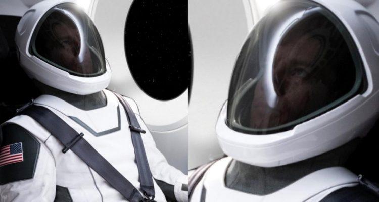 combinaison spatiale elon musk spacex