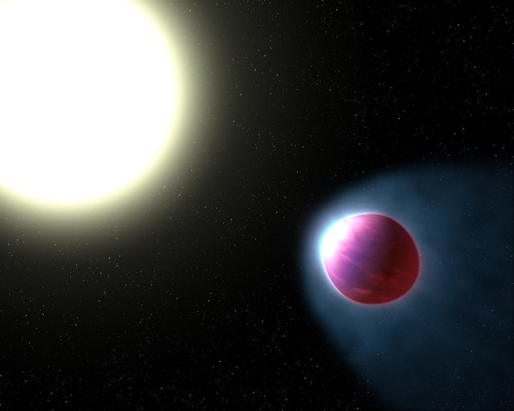 exoplanete atmosphère eau nasa