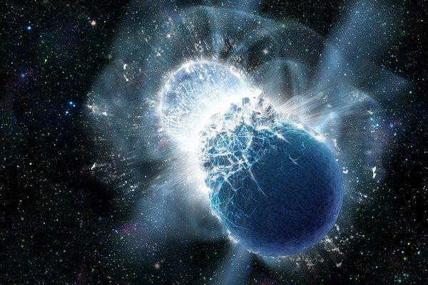 fusion étoile à neutrons illustration ligo virgo