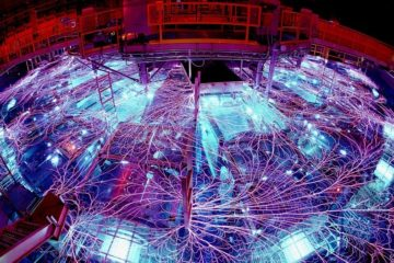 rayons x machine z trou noir massif