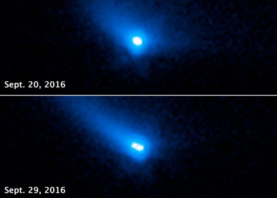comete binaire objet stellaire hybride nasa hubble