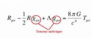 equation relativite generale