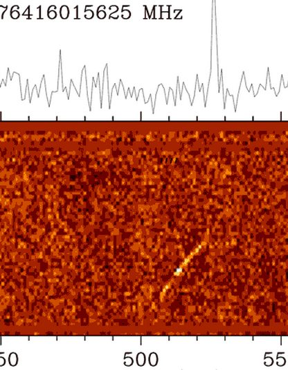 rafales de signaux radios distante galaxie éloignée