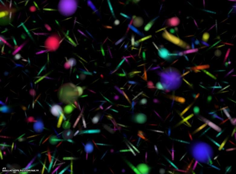 simulation vide quantique chaos particules virtuelles