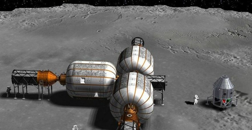 habitat module lunaire lune exploration spatiale