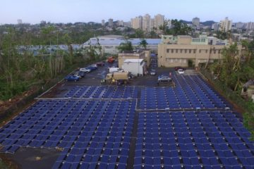 tesla énergie électricité porto rico ouragan hôpital