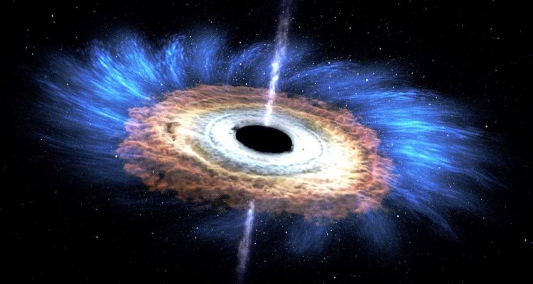 trou noir explosion