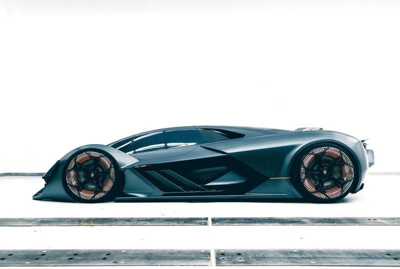 lamborghini supercar conceptcar terzo millennio