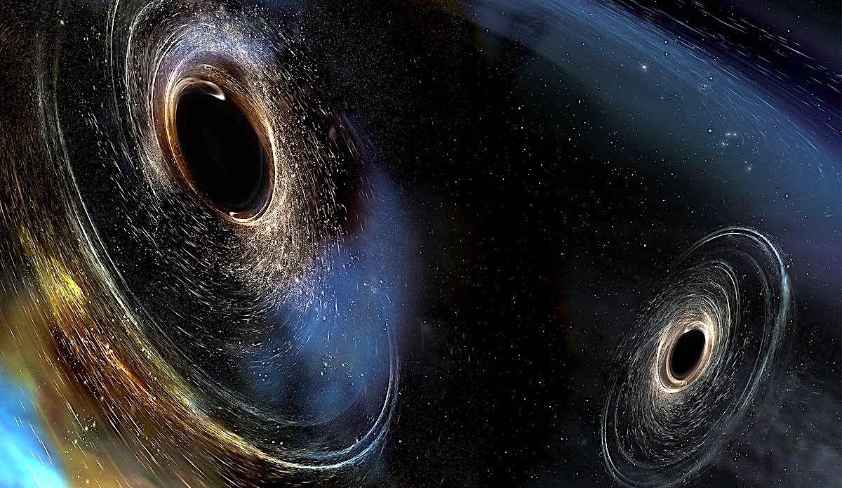 black hole simulation