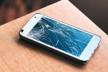 telephone ecran casse brise reparant auto