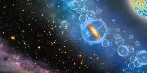 quasar univers primitif primordial trou noir supermassif gargantuesque