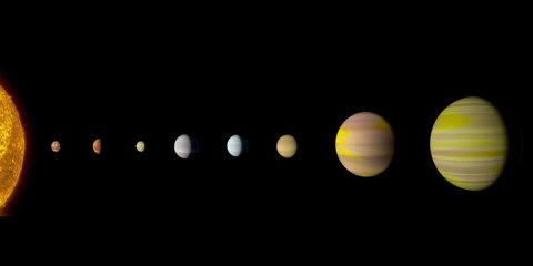 systeme stellaire kepler kepler90 nasa google IA intelligence artificielle