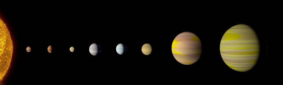 système stellaire intelligence artificielle google ia nasa kepler telescope spatial planetes kepler90