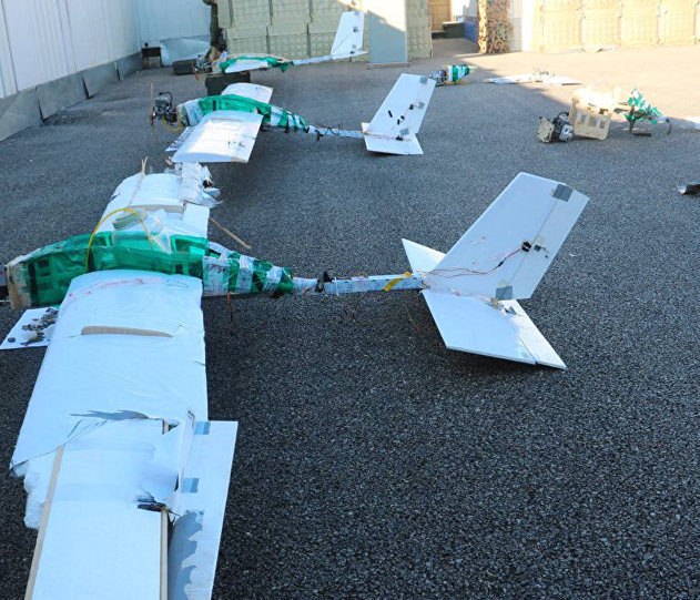 attaque drone organises russie syrie bombe explosifs