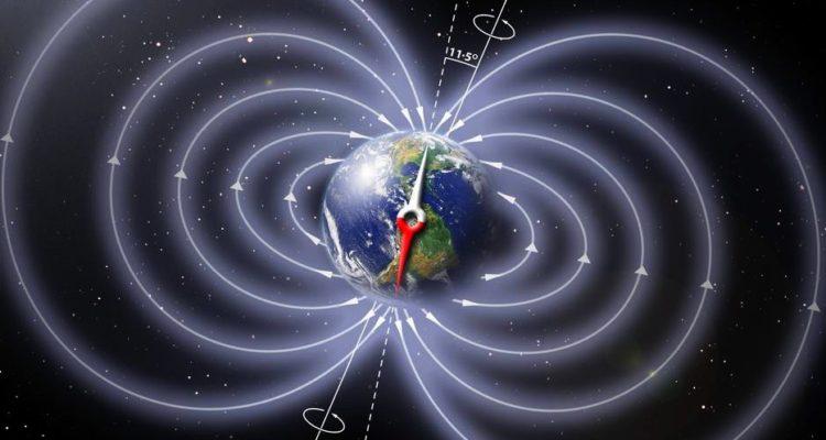 inversion des poles magnetiques terrestres