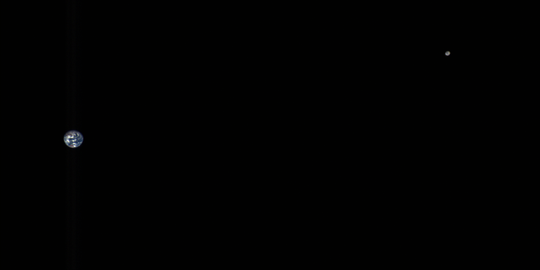 terre lune photo sonde nasa osiris rex asteroide
