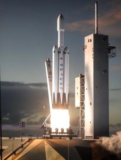 falcon heavy spacex elon musk fusée reutilisable