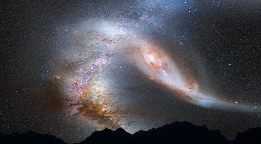 nouvelle estimation masse galaxie andromede