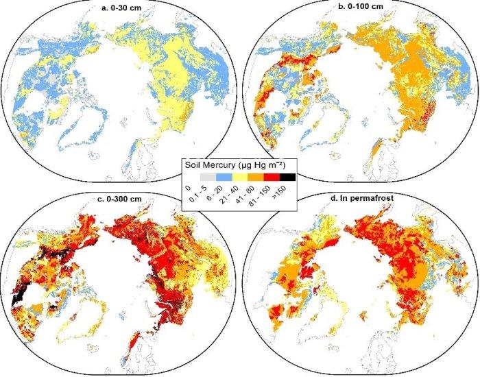 pergélisol mercure monde environnement glaces fonte réchauffement