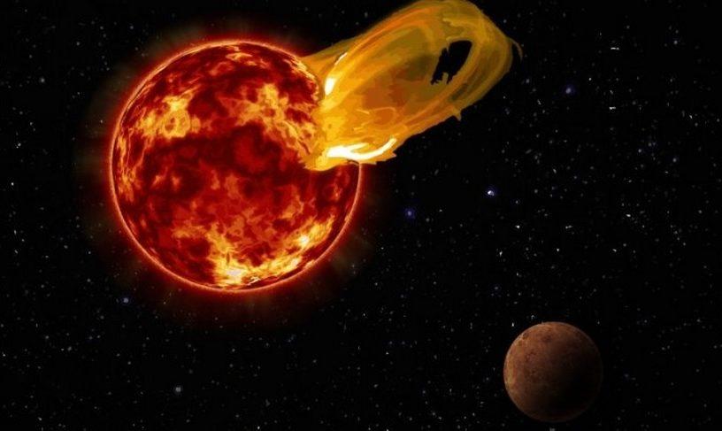 proxima du centaure centauri étoile explosion flaire éruption stellaire planète exoplanète