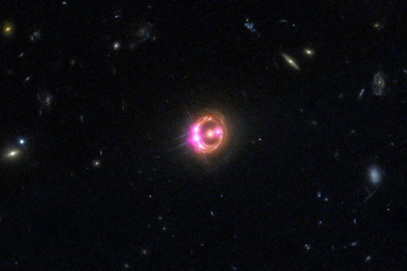 quasar galaxie rayons x chandra nasa planètes