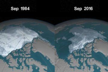 fonte glace arctique