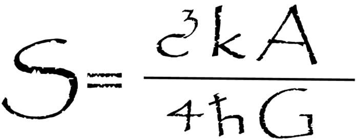 formule entropie