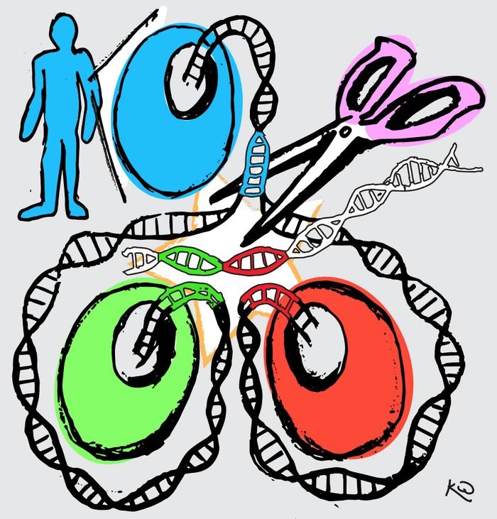 edition technique genes crispr maladies