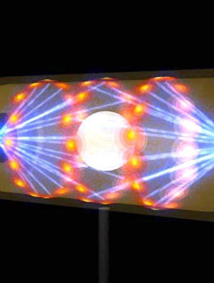 hohlraum transformation lumiere matiere masse