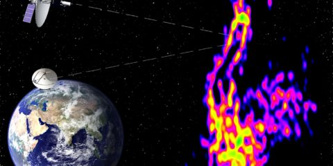 composition jets relativistes telescopes comparaison terre