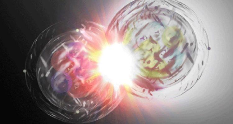 matiere antimatiere collision