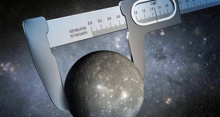 nasa taille planète mesure universelle