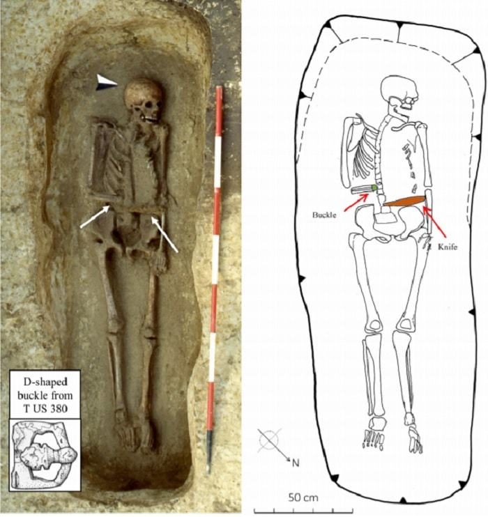 squelette longobard