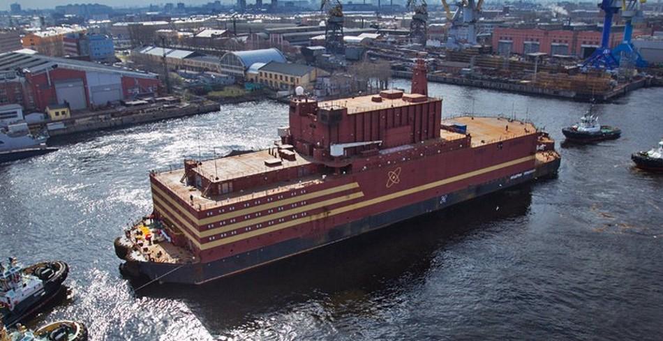 centrale nucleaire russie flottante reacteur