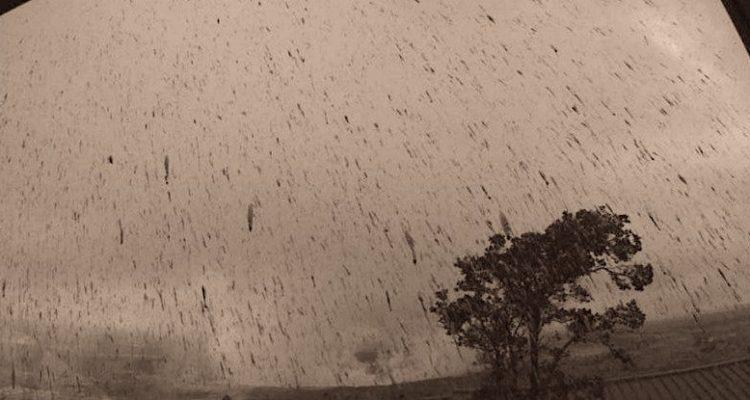 volcan kilauea hawaii explosion panache