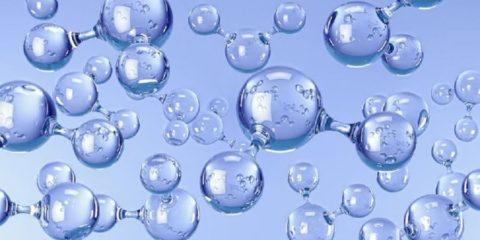 eau molecules type