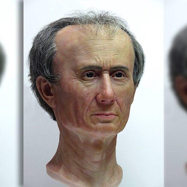 jules cesar visage 3d reconstitution